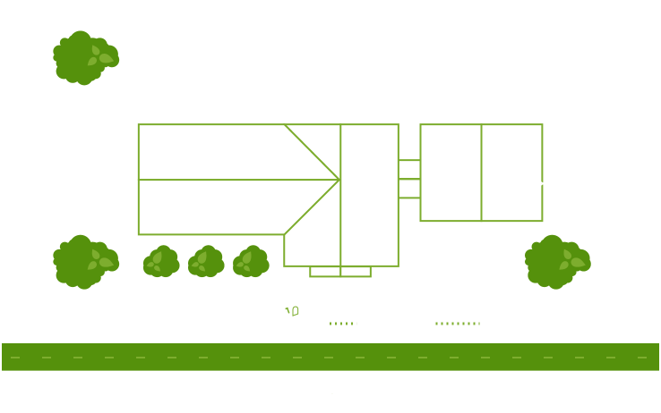 Front and back yards Image